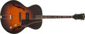 Musical Instruments:Electric Guitars, Late 1940s Gibson ETG-150 Sunburst Archtop Guitar, #NA....