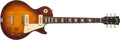 Musical Instruments:Electric Guitars, Early 1950's Gibson Les Paul Sunburst Electric Guitar, #N/A....