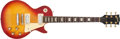Musical Instruments:Electric Guitars, 1971 Gibson Les Paul Deluxe Cherry Sunburst Electric Guitar,#951562....