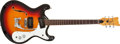 Musical Instruments:Electric Guitars, Late 1960s Mosrite Combo Sunburst Electric Guitar #H1137....