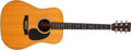 Musical Instruments:Acoustic Guitars, 1973 Martin D-28 Natural Acoustic Guitar, #318242. ...