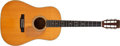 Musical Instruments:Acoustic Guitars, 1975 Martin D-35S Natural Acoustic Guitar, #355220. ...