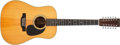 Musical Instruments:Acoustic Guitars, 1975 Martin D-12-28 Natural 12-String Acoustic Guitar, #354345. ...