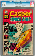 Bronze Age (1970-1979):Cartoon Character, Casper Spaceship #1 File Copy (Harvey, 1972) CGC NM/MT 9.8Off-white to white pages....