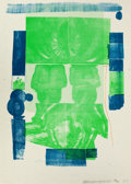 Prints:Contemporary, ROBERT RAUSCHENBERG (American, 1925-2008). Castle (fromRomances), 1977. Color lithograph. 40 x 30-1/2 inches (101.6 x7...