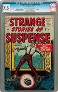 Golden Age (1938-1955):Science Fiction, Strange Stories of Suspense #5 (Atlas, 1955) CGC VF- 7.5 Off-whiteto white pages....