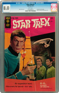Silver Age (1956-1969):Science Fiction, Star Trek #1 (Gold Key, 1967) CGC VF 8.0 White pages....