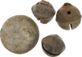 Military & Patriotic:Indian Wars, George Armstrong Custer: Little Big Horn Relics.... (Total: 5 Items)