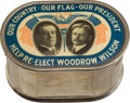 Political:3D & Other Display (1896-present), Woodrow Wilson: Highly Desirable Jugate Donation Bank....