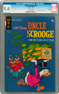 Bronze Age (1970-1979):Cartoon Character, Uncle Scrooge #95 Savannah pedigree (Gold Key, 1971) CGC NM 9.4Off-white pages....