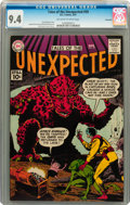 Silver Age (1956-1969):Science Fiction, Tales of the Unexpected #59 Savannah pedigree (DC, 1961) CGC NM 9.4Off-white to white pages....