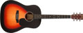 Musical Instruments:Acoustic Guitars, 2001 Martin CEO-4 Special Edition 3-Tone Sunburst Acoustic Guitar#830475...