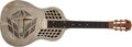 Musical Instruments:Resonator Guitars, 1930 National Style 1 Tri-Cone Nickel-Plated Resonator, #2247. ...
