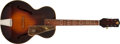 Musical Instruments:Acoustic Guitars, 1940s Dobro No Model Sunburst Archtop Acoustic Guitar, #L9100. ...