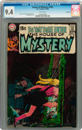 Bronze Age (1970-1979):Horror, House of Mystery #182 Savannah pedigree (DC, 1969) CGC NM 9.4 Whitepages....