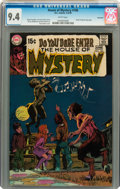 Bronze Age (1970-1979):Horror, House of Mystery #186 Savannah pedigree (DC, 1970) CGC NM 9.4 Whitepages....