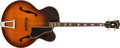 Musical Instruments:Acoustic Guitars, 1950 Gibson Custom Sunburst Plectrum Scale Guitar, #24482....