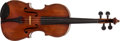 Musical Instruments:Violins & Orchestra, 1920s European Amber Full Sized Violin, #N/A....