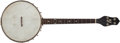 Musical Instruments:Banjos, Mandolins, & Ukes, 1920's Gibson Style 3 Brown Stain Tenor Banjo, #11220A-12. ...