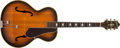 Musical Instruments:Acoustic Guitars, 1940s Epiphone Triumph Sunburst Archtop Acoustic Guitar, #11246....