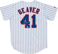 Baseball Collectibles:Uniforms, Tom Seaver Signed Jersey....