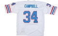 Football Collectibles:Uniforms, Earl Campbell Signed Jersey....