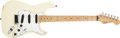 Musical Instruments:Electric Guitars, 1987 Fender Stratocaster Cream Solid Body Electric Guitar,#E406714. ...