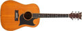 Musical Instruments:Acoustic Guitars, Modern Grammer Unknown Natural Acoustic Guitar, #5900....