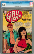 Silver Age (1956-1969):Romance, Girls' Love Stories #124 Savannah pedigree (DC, 1967) CGC NM- 9.2Cream to off-white pages....