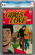 Silver Age (1956-1969):Romance, Girls' Love Stories #142 Savannah pedigree (DC, 1969) CGC NM 9.4Cream to off-white pages....