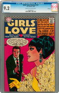 Silver Age (1956-1969):Romance, Girls' Love Stories #123 Savannah pedigree (DC, 1966) CGC NM- 9.2Cream to off-white pages....