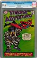 Silver Age (1956-1969):Science Fiction, Strange Adventures #201 Savannah pedigree (DC, 1967) CGC NM+ 9.6 Off-white pages....