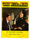 Memorabilia:Movie-Related, Gone With the Wind Motion Picture Edition Softcover (MacmillanCompany, 1939)....
