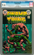 Bronze Age (1970-1979):Horror, Swamp Thing #10 Savannah pedigree (DC, 1974) CGC NM+ 9.6 Whitepages....