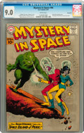 Silver Age (1956-1969):Science Fiction, Mystery in Space #66 Savannah pedigree (DC, 1961) CGC VF/NM 9.0Cream pages....