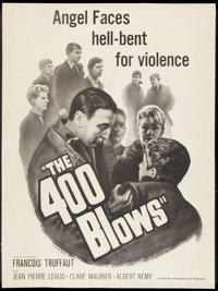 """The 400 Blows (Zenith International, 1959). Poster (30"""" X 40""""). Foreign"""
