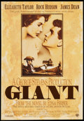"""Movie Posters:Drama, Giant (Warner Brothers, R-1996). 40th Anniversary One Sheet (27"""" X39""""). Drama.. ..."""