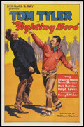 "Movie Posters:Western, Fighting Hero (William Steiner, 1934). One Sheet (27"" X 41"").Western.. ..."