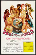 """Movie Posters:Adult, Around the World with John 'The Wadd' Holmes (Art-Mart, 1975). One Sheet (26.75"""" X 40.5""""). Adult.. ..."""