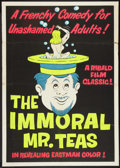 "Movie Posters:Sexploitation, The Immoral Mr. Teas (Pad-Ram Enterprises, 1959). One Sheet (27"" X41""). Sexploitation.. ..."