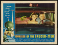 "Movie Posters:Science Fiction, Invasion of the Saucer-Men (American International, 1957). LobbyCard (11"" X 14""). Science Fiction.. ..."