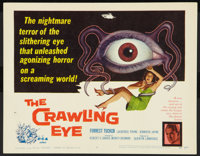 """The Crawling Eye (DCA, 1958). Title Lobby Card (11"""" X 14""""). Science Fiction"""