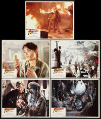"""Raiders of the Lost Ark (Paramount, 1981). Lobby Cards (5) (11"""" X 14""""). Adventure. ... (Total: 5 Items)"""