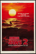 "Movie Posters:Horror, Jaws 2 (Universal, 1978). One Sheet (27"" X 41"") Advance Style B.Horror.. ..."