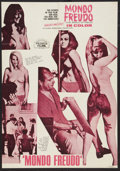 """Movie Posters:Exploitation, Mondo Freudo Lot (Olympic International, 1966). French Affiche(22.25"""" X 31.25"""") and One Sheet (27"""" X 41""""). Exploitation.. ...(Total: 2 Items)"""