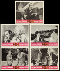 "Movie Posters:James Bond, Goldfinger/Dr. No Combo (United Artists, R-1966). Lobby Cards (5)(11"" X 14""). James Bond.. ... (Total: 5 Items)"