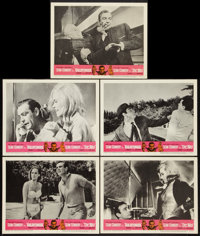 "Goldfinger/Dr. No Combo (United Artists, R-1966). Lobby Cards (5) (11"" X 14""). James Bond. ... (Total: 5 Items..."
