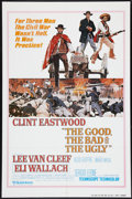 "Movie Posters:Western, The Good, the Bad and the Ugly (United Artists, R-1980).International One Sheet (27"" X 41""). Western.. ..."