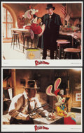 "Movie Posters:Animated, Who Framed Roger Rabbit (Buena Vista, 1988). Lobby Cards (2) (11"" X14""). Animated.. ... (Total: 2 Items)"
