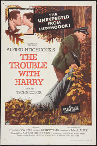"The Trouble with Harry (Paramount, 1955). One Sheet (27"" X 41""). Hitchcock"